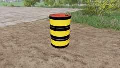 Marker Barrel para Farming Simulator 2017