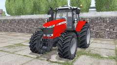 Massey Ferguson 7724 Michelin XeoBib para Farming Simulator 2017