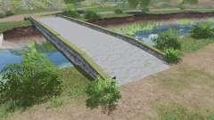 Ponte de concreto v1.0.0.1 para Farming Simulator 2017