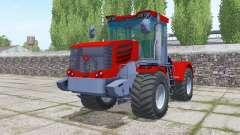 Kirovets K-744Р4 vermelho brilhante para Farming Simulator 2017