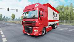 DAF XF105 Super Space Cab Tandem para Euro Truck Simulator 2