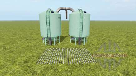 Seeds and Fertilizer Silo para Farming Simulator 2017