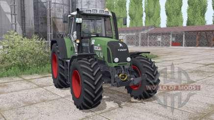 Fendt 820 Vario TMS montagem do carregador para Farming Simulator 2017