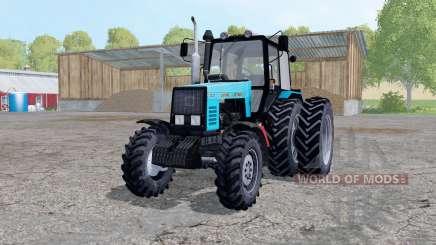 MTZ-1221 Bielorrússia trator de pneus rodas duplas para Farming Simulator 2015