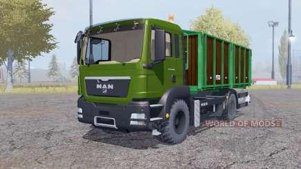 MAN TGS tipper para Farming Simulator 2013