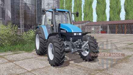New Holland TS115 narrow wheels para Farming Simulator 2017