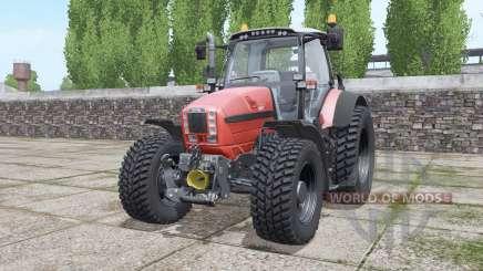 Same Fortis 160 new wheels para Farming Simulator 2017