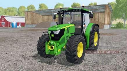 A John Deere 6170R carregador frontal para Farming Simulator 2015