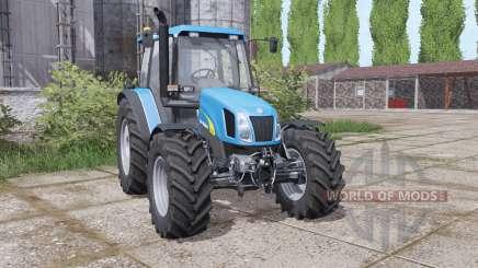 New Holland TL 100 A wheels weights para Farming Simulator 2017