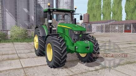 John Deere 6230R front weight para Farming Simulator 2017