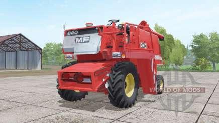 Massey Ferguson 620 4x4 para Farming Simulator 2017