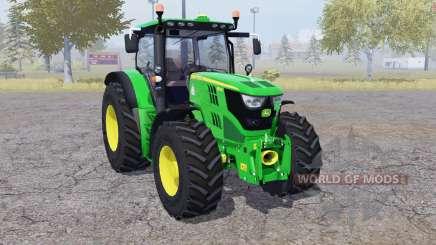 John Deere 6150R front loader para Farming Simulator 2013