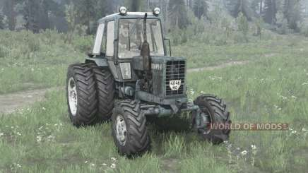 MTZ Bielorrússia 82.1 / rodas duplas para MudRunner
