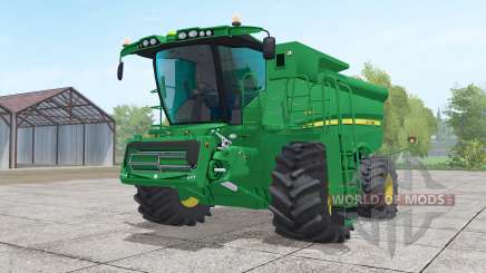 John Deere S690i with header para Farming Simulator 2017