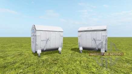 Recipiente de resíduos para Farming Simulator 2017