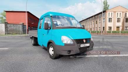 330232 GAZ Gazela de Negócios para Euro Truck Simulator 2