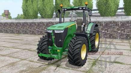John Deere 7230R front loader para Farming Simulator 2017