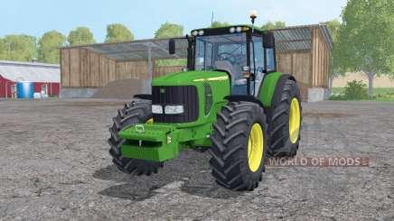 John Deere 7520 loader mounting para Farming Simulator 2015
