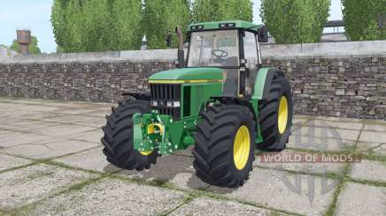 John Deere 7710 wide tyre para Farming Simulator 2017
