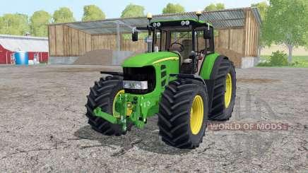 A John Deere 7530 Premium de animação peças para Farming Simulator 2015