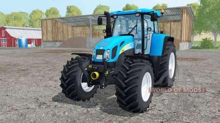 New Holland T7550 interactive control para Farming Simulator 2015