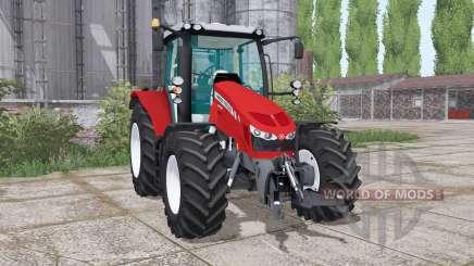 Massey Ferguson 5712 twin wheels para Farming Simulator 2017