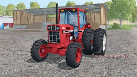 International 1086 dual rear para Farming Simulator 2015