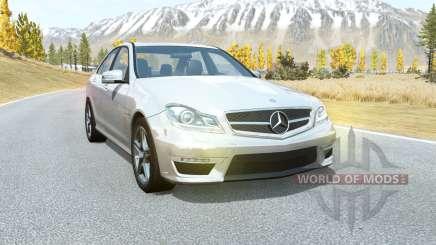 Mercedes-Benz C 63 AMG (W204) 2011 para BeamNG Drive