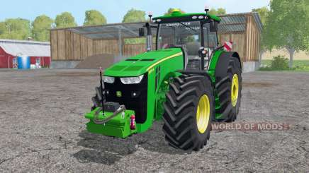A John Deere 8370R controle interativo para Farming Simulator 2015