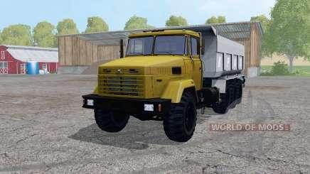 KrAZ 7140С6 para Farming Simulator 2015