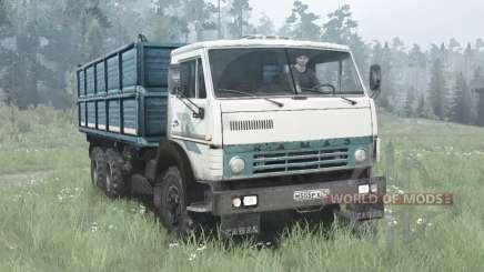 KamAZ 55102 6x4 para MudRunner