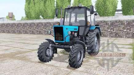 MTZ-82.1 Bielorrússia com animação de peças para Farming Simulator 2017
