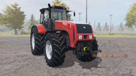 Bielorrússia 3522 com controles interativos para Farming Simulator 2013