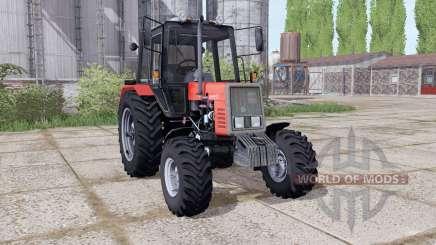 MTZ 892 Bielorrússia animação peças para Farming Simulator 2017