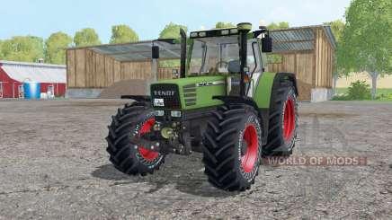 Fendt Favorit 515C Continental tyres para Farming Simulator 2015