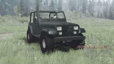Jeep Wrangler (YJ) 1993 para MudRunner