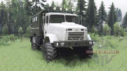 KrAZ 5131 4x4 para Spin Tires