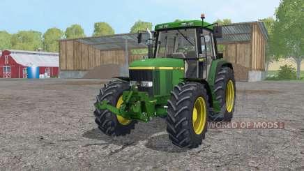 John Deere 6810 interactive control para Farming Simulator 2015