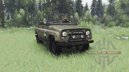 UAZ 469 S. T. A. L. K. E. R. para Spin Tires