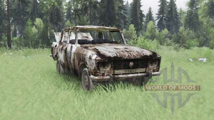 Moskvich 2140 S. T. A. L. K. E. R. v1.1 para Spin Tires