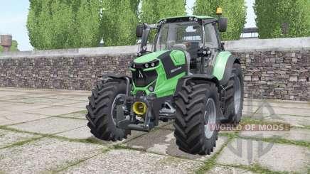 Deutz-Fahr Agrotron 6185 TTV interactive control para Farming Simulator 2017