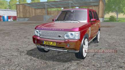 Land Rover Range Rover Supercharged (L322) 2005 para Farming Simulator 2015