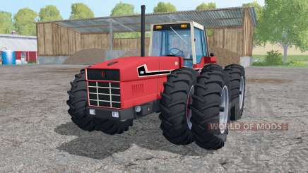 International 3588 twin wheels para Farming Simulator 2015
