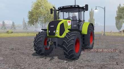 Claas Axion 850 add weights para Farming Simulator 2013