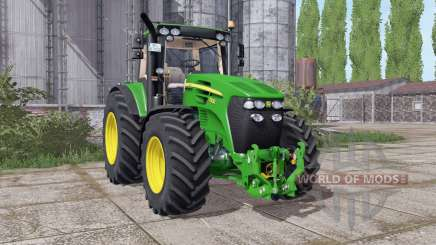 John Deere 7930 narrow twin wheels para Farming Simulator 2017