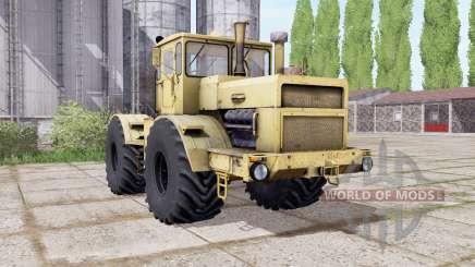 Kirovets K-700A rodas duplas para Farming Simulator 2017