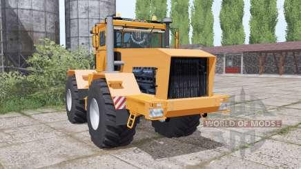 Kirovets K-701 é um soft laranja para Farming Simulator 2017