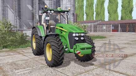 A John Deere 7830 frente peso para Farming Simulator 2017