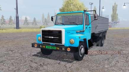 GAZ 3309 animação peças v2.0 para Farming Simulator 2013