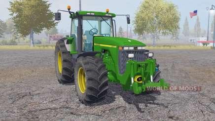 John Deere 8400 animation parts para Farming Simulator 2013